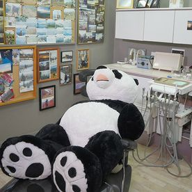 A special patient waiting for the dentist