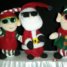 Christmas decorations | Santa and Elves
