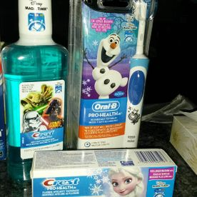 Christmas Prizes | Toothpaste, mouthwash and toothbrush