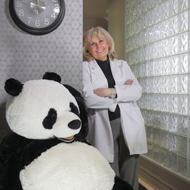 Dr. Sharon Witzu and friend
